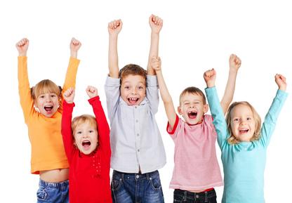 Enfants contents, merci l'étiopathie