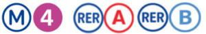 Etiopathe paris, logos metro pour accéder